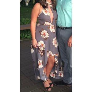 High-low semi formal dress